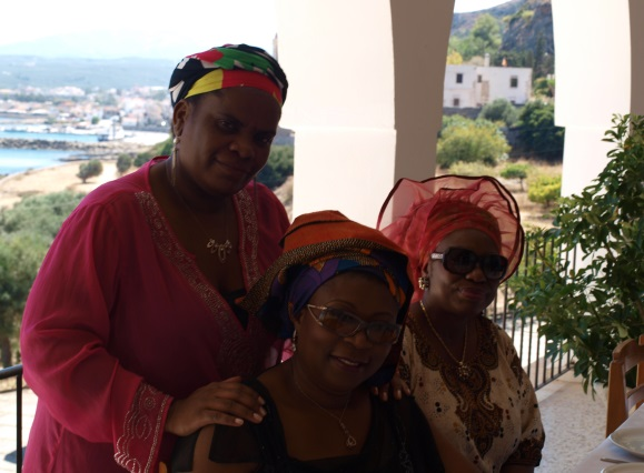 Princess Deun and Princess Muzvare Betty Makoni